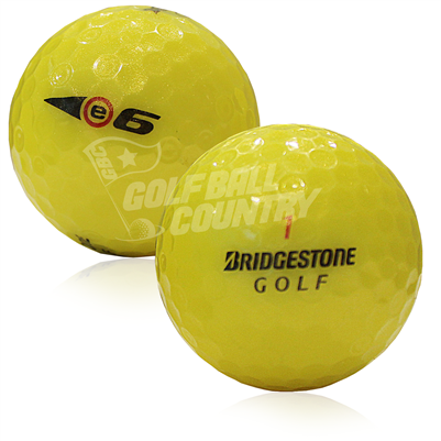 Bridgestone e6 Yellow