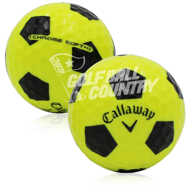 Callaway Chrome Soft Truvis Yellow/Black