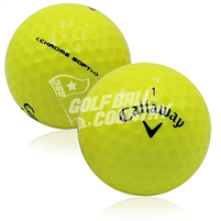 Callaway Chrome Soft Yellow