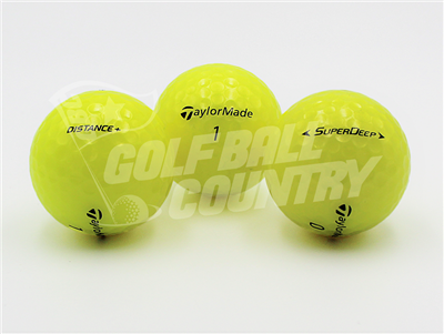 TaylorMade Assorted Yellow Models