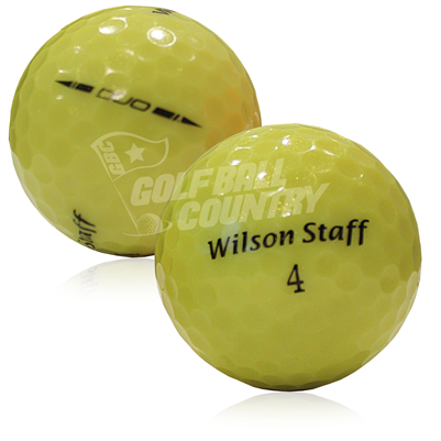 Wilson Staff Duo Yellow