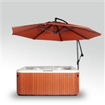 Cover Valet Spa Side Umbrella (Rust)
