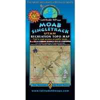 Moab Singletracks Map