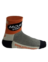 Moab Oval Sock- Black