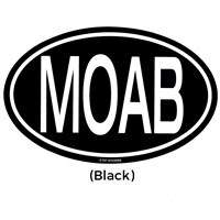 Sticker - MOAB Oval Large