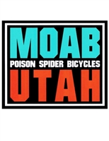 Sticker - Moab - Blue Sky Red Rocks