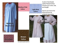 Ladies & Plus Peasant Dress Custom Made Choose Color and Size
