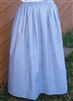 Ladies Prairie Skirt Country Blue Calico size L 14 16