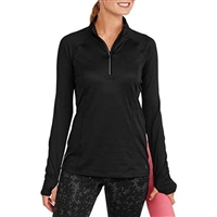 Famous Brand ladies half zip top.