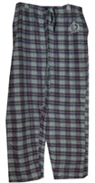 MONTE CARLO POLO AND JOCKEY CLUB® men's flannel plaid lounge pant.