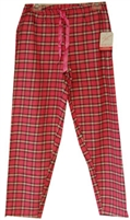 Northwest Blue® plus size ladies yarn dye flannel plaid lounge pants