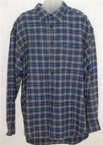 National Outfiters® men's plaid heavyweight brawny shirt.