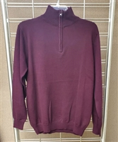 Zara's men's 1/4 zip sweater.