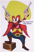 Yosemite Sam !$%?@ Your Feelings Decal Sticker