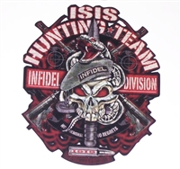ISIS Hunting Team Skull  Full color Graphic Window Decal Sticker