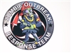 "8"" X 8"" Zombie Outbreak Response Team #2 Vinyl Decal Sticker"