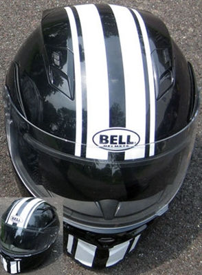 Motorcycle Vinyl Decal Stripe Helmet 5
