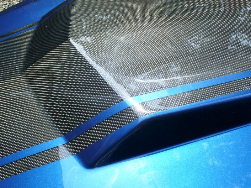 20 Quot Mustang Charger Or Truck Universal Carbon Fiber