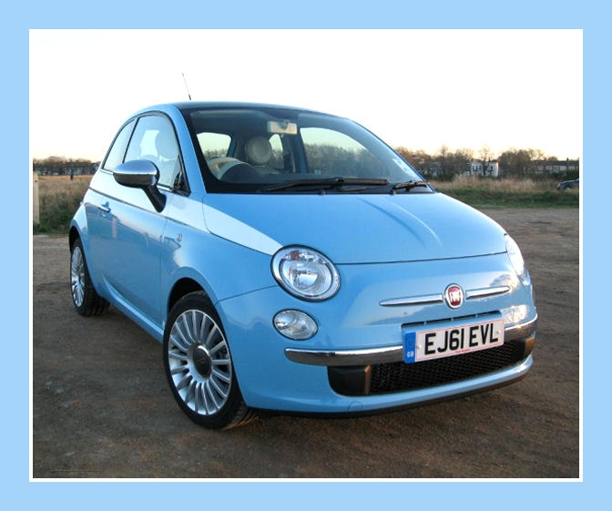 All Year Fiat 500 5 Quot Check Side Stripes