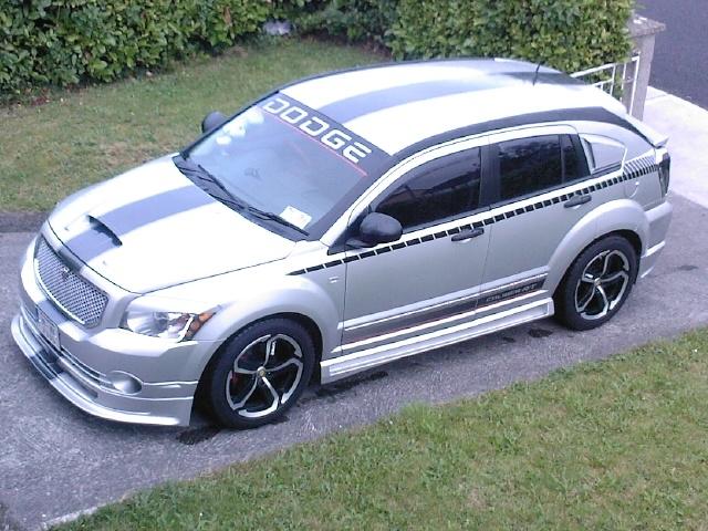 Dodge Caliber 12 Rally Stripe Set