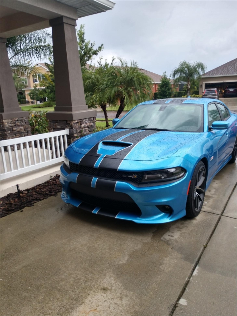 All Year Dodge Charger 10 Twin 2 Color Rally Stripe Graphics Set