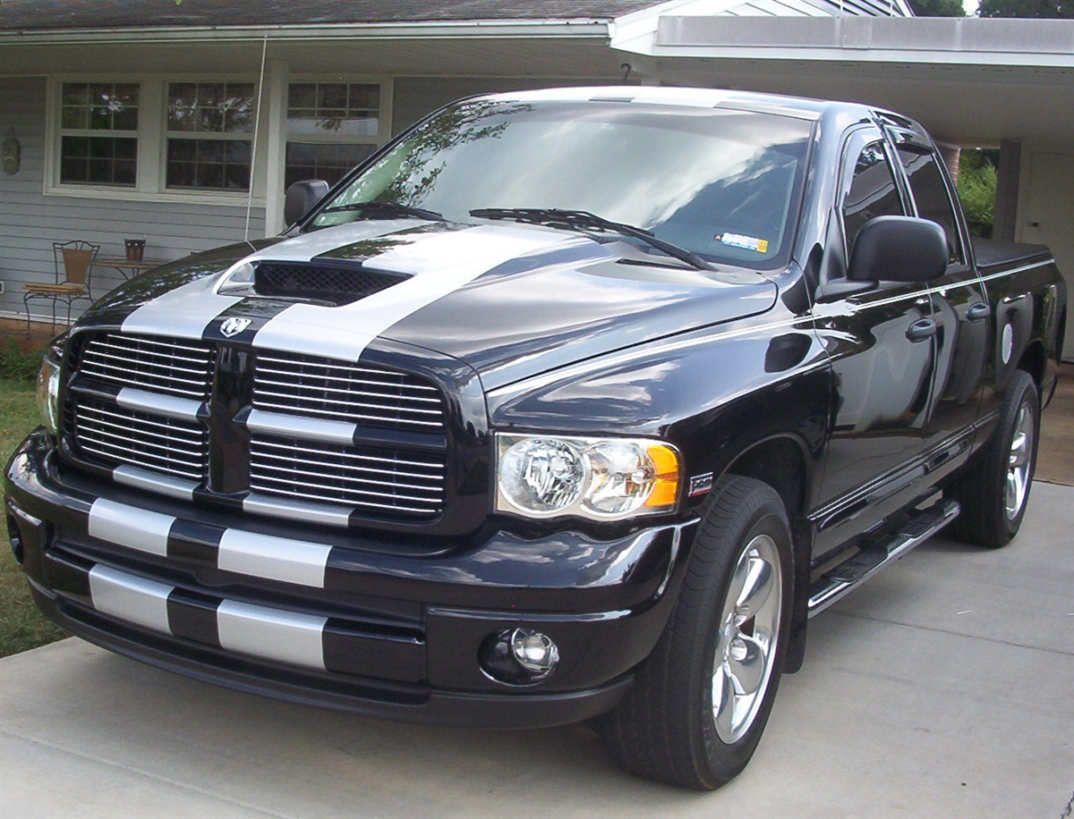 Dodge Ram 10 Quot Plain Rally Stripe Set
