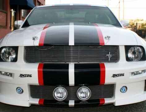 2005 - 2013 Ford Mustang & 2 color GT Dual Stripe kit