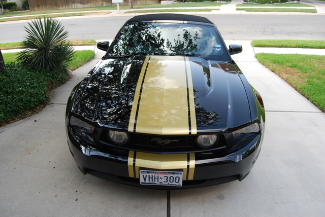"Mustang Decals And Stripes >> 2010 - 2014 20"" Mustang Rally Stripe graphics set"