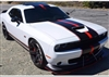 Dodge Challenger 2 Color Rally stripes Number 2