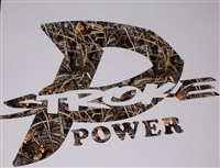 Real Tree Camo P-Stroke Decal
