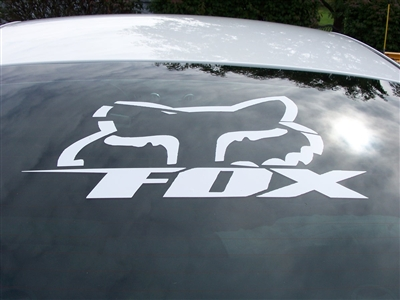 Fox Racing Peek A Boo Head Decal