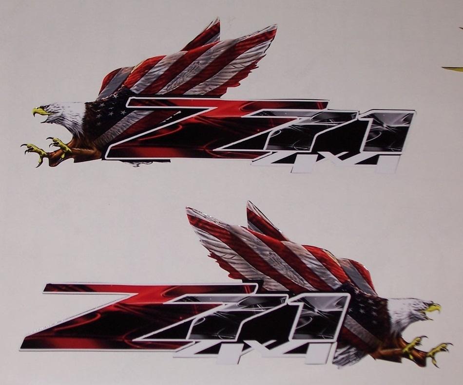 American flag eagle z71