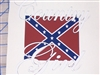 Country Girl Rebel Flag Full Color Decal