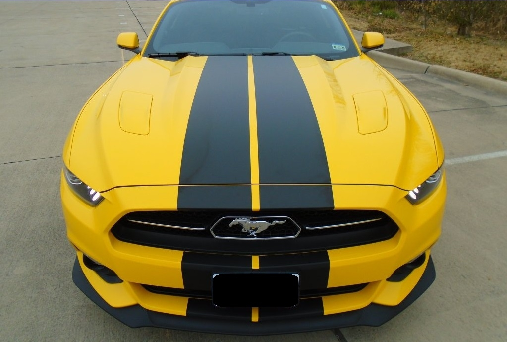 10 Quot Plain Rally Stripes Fit 2015 Mustang