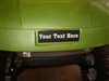 Green Golf Cart w/ EZGO Logo Cover