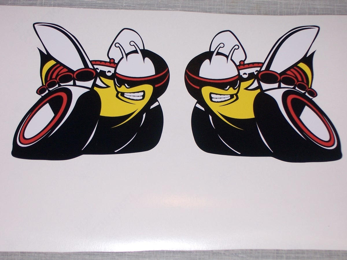 Scat pack ski doo rumble bee scat pack bee decals
