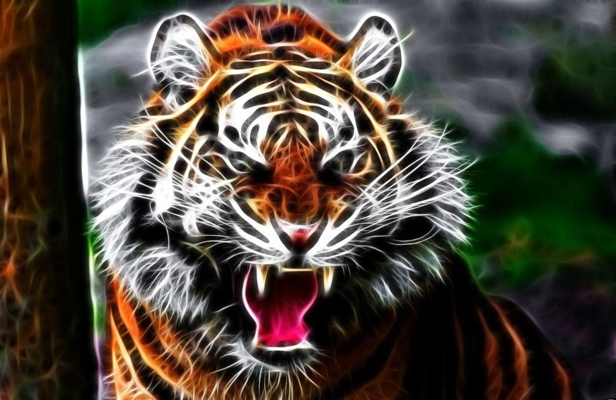 Tiger 4 Wallrv Graphic Decal