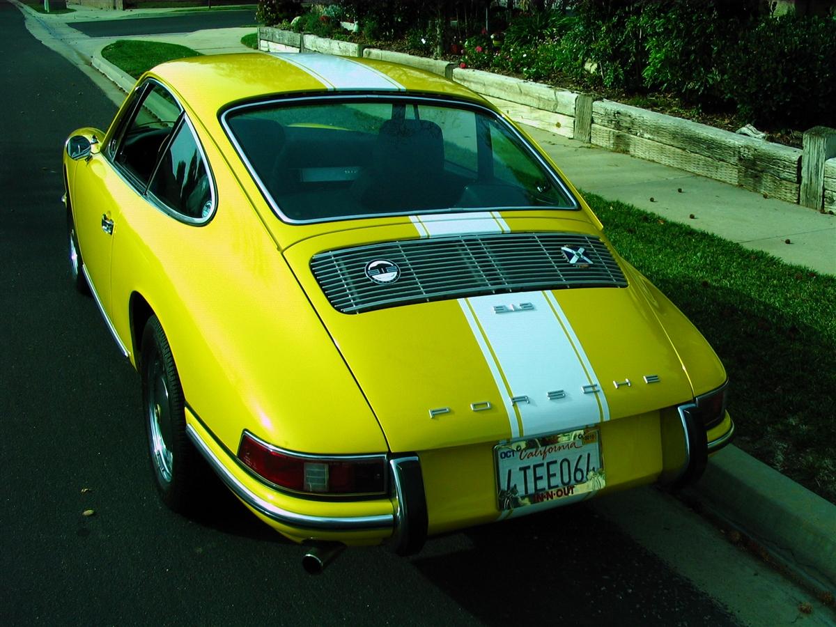 Porsche 12 Stripes Decals