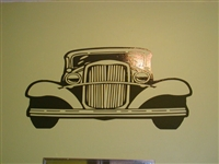 30's Street Rod Wall Decal