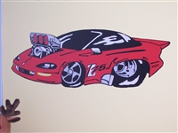 94-97 Pro Street Blown Chevy Camaro Decal