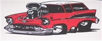 57 Chevy Nomad Wall Decal