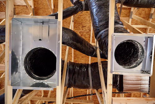 ventilation duct system