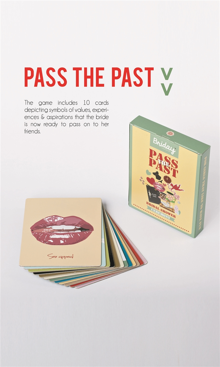 pass the past bridal showerbachelorette party game