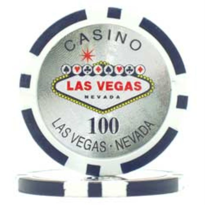 300 Welcome to Las Vegas Poker Chip Set with Aluminum Case