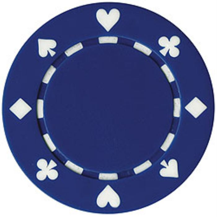 650 Suited Design Poker Chip Set with Aluminum Case