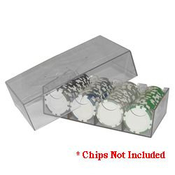 Clear Plastic Chip Storage Box