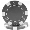 Striped Dice Poker Chips - Gray