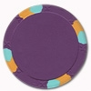 NexGen Lucky Bee Large Label Poker Chips - Purple