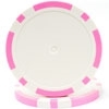 Classic Eight Stripe Poker Chips - Pink