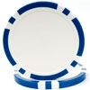 Classic Eight Stripe Poker Chips  -Blue
